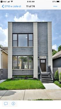 2710 W Julia, Chicago, IL 60647