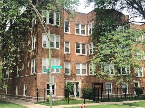 4902 N Springfield Unit 3, Chicago, IL 60625