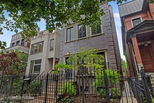 1627 N Bell, Chicago, IL 60647 Bucktown