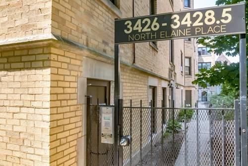 3426 N Elaine Unit 3E, Chicago, IL 60657 Lakeview