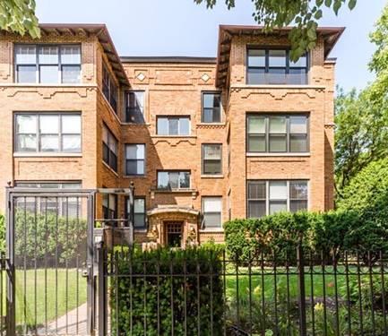 4454 N Malden Unit 3, Chicago, IL 60640 Uptown