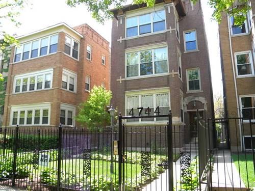 4744 N Malden Unit 1, Chicago, IL 60640 Uptown