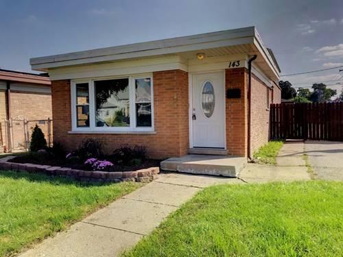 143 Englewood, Bellwood, IL 60104