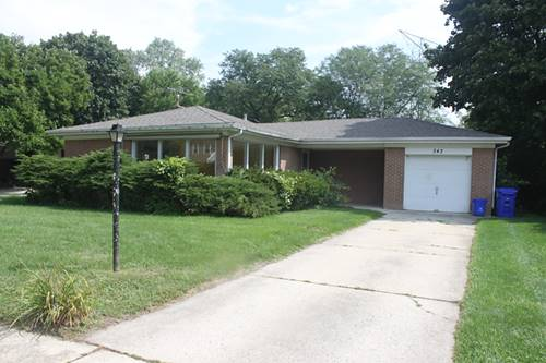 343 Indian, Glen Ellyn, IL 60137