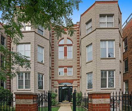 1862 N Halsted Unit 1S, Chicago, IL 60614 West Lincoln Park