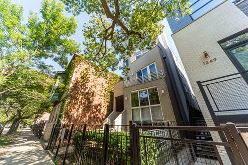 1351 N Leavitt Unit 3, Chicago, IL 60622 Wicker Park