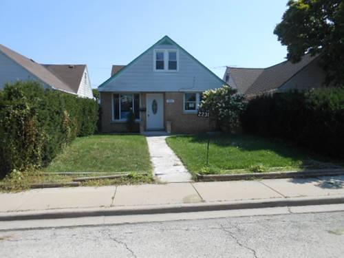 2231 N Finley, River Grove, IL 60171