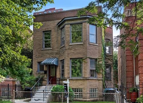 5203 N Winthrop, Chicago, IL 60640 Edgewater