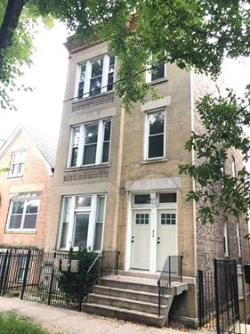 2031 W Cortland Unit 3, Chicago, IL 60647 Bucktown