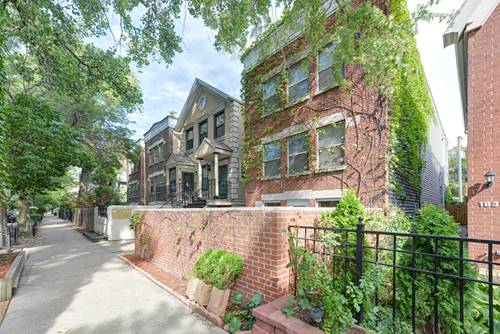 1833 N Bissell Unit 1, Chicago, IL 60614 West Lincoln Park