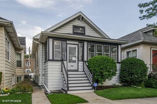 4727 N Kelso, Chicago, IL 60630