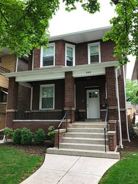 543 Gunderson Unit 1, Oak Park, IL 60304