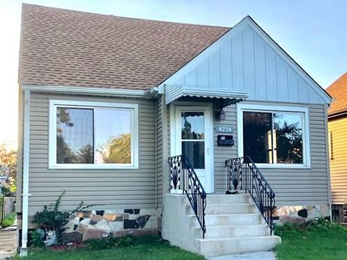 4224 N New England, Harwood Heights, IL 60706