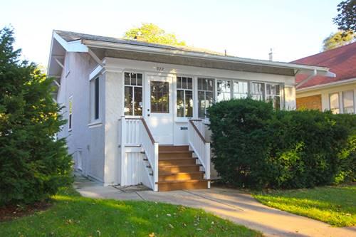 922 Mapleton, Oak Park, IL 60302