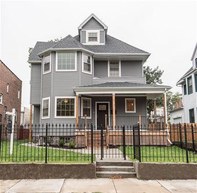 4544 S Forrestville, Chicago, IL 60653
