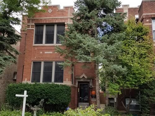 2622 W Argyle, Chicago, IL 60625 Ravenswood