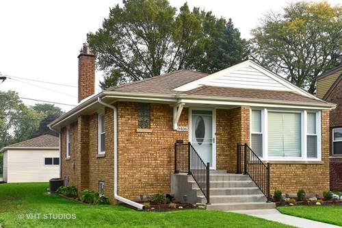 9406 Lincoln, Brookfield, IL 60513