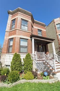 3614 N Hoyne, Chicago, IL 60618 North Center