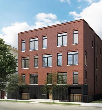 1216 W Huron Unit 102, Chicago, IL 60642 Noble Square