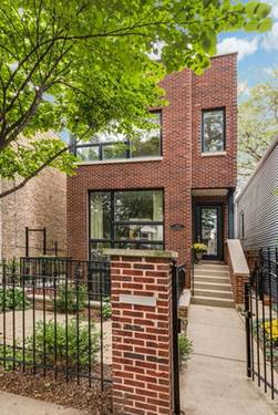 1912 W Wellington, Chicago, IL 60657 West Lakeview