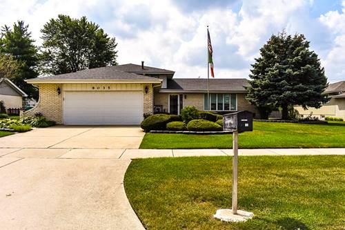 8035 Wheeler, Orland Park, IL 60462