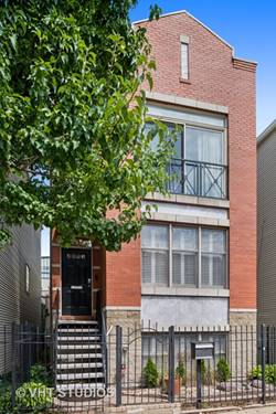 537 N Hartland, Chicago, IL 60622 East Village