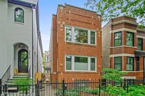 3822 N Paulina Unit 1, Chicago, IL 60613 Lakeview