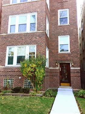 4854 N Rockwell Unit 2, Chicago, IL 60625 Lincoln Square