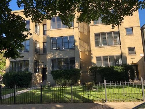 4657 N Beacon Unit 3, Chicago, IL 60640 Uptown
