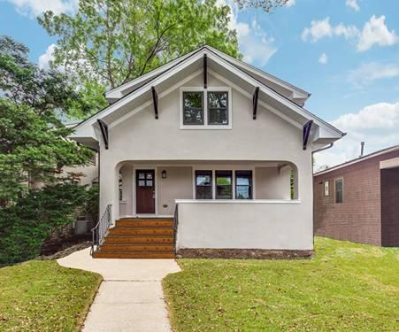 930 N Taylor, Oak Park, IL 60302