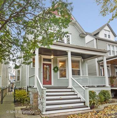 3848 N Seeley, Chicago, IL 60618 North Center