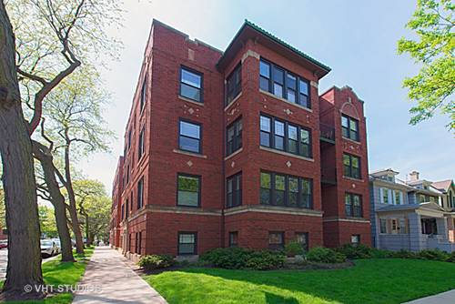 1506 W Cullom Unit B1, Chicago, IL 60613 Uptown