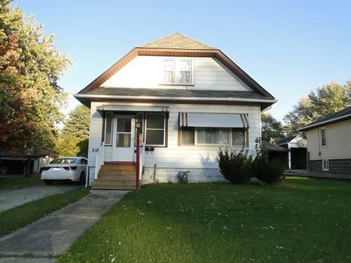 216 S Briggs, Joliet, IL 60433
