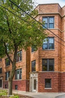 1944 W Newport Unit 1, Chicago, IL 60657 Roscoe Village