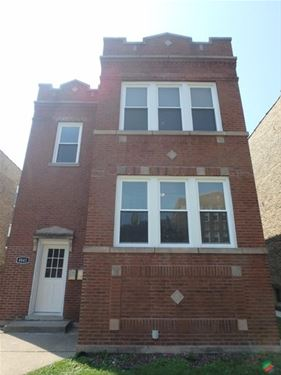 4841 W Montana, Chicago, IL 60639