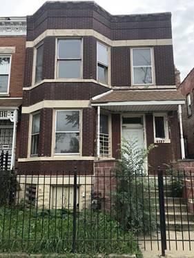 4127 W Wilcox, Chicago, IL 60624