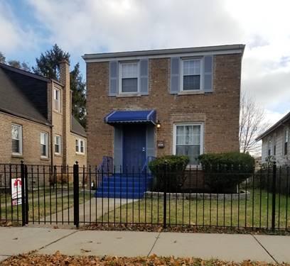 12477 S Wabash, Chicago, IL 60628 West Pullman