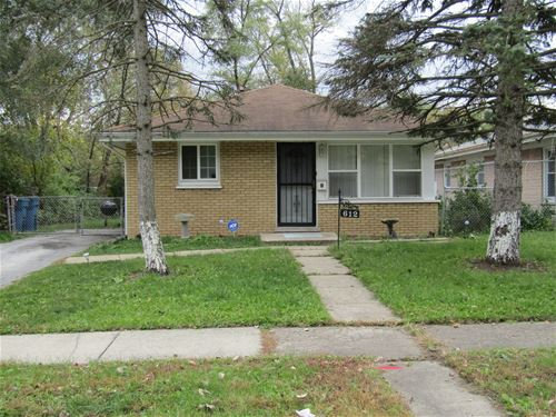 612 W 16th, Chicago Heights, IL 60411