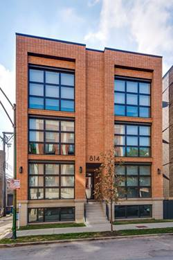 814 N Marshfield Unit 3S, Chicago, IL 60622 Noble Square