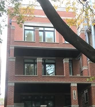 1433 W Henderson Unit 1, Chicago, IL 60657 Lakeview