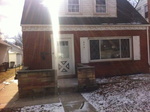 234 W Lincoln, Chicago Heights, IL 60411
