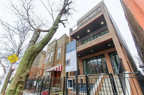 940 N Wolcott Unit 3, Chicago, IL 60622 Noble Square