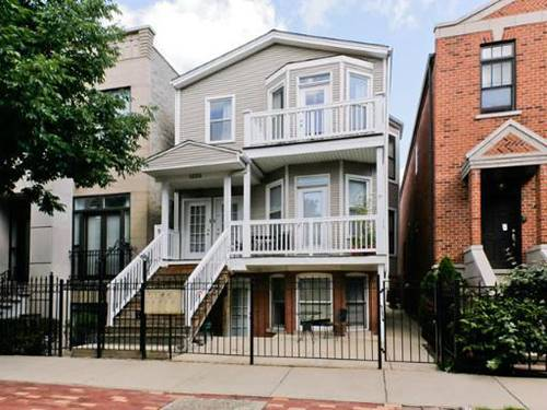 1238 W Henderson, Chicago, IL 60657 Lakeview