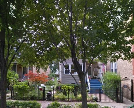 4152 N Ridgeway Unit 2, Chicago, IL 60618
