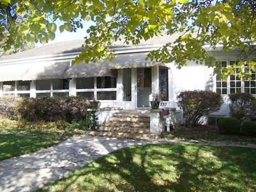 270 Kenilworth, Glen Ellyn, IL 60137