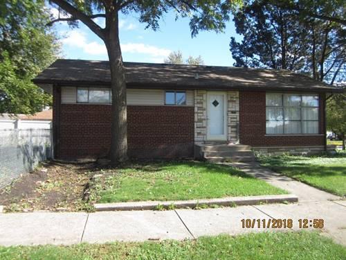 5168 W 99th, Oak Lawn, IL 60453