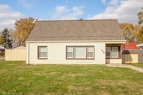 4136 W 99th, Oak Lawn, IL 60453