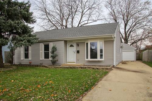 142 W Montana, Glendale Heights, IL 60139