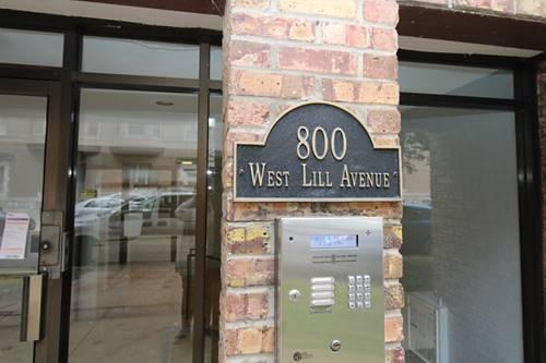 800 W Lill Unit 404, Chicago, IL 60614 Lincoln Park