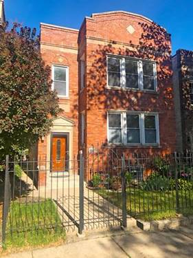 3918 N Claremont Unit 2, Chicago, IL 60618 North Center